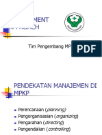 Management Approach Mpkp