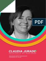 Propuesta Gobierno Claudia Jurado