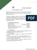 Edital SEDU_SERH Nº 03_2018 - Inscrições Para Participação Em Cursos de Longa Duração - Mestrado e Doutorado