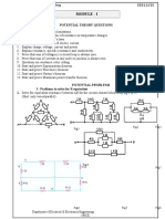 Problem Sheet Module 1