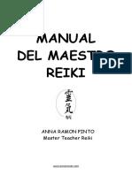 Manual Maestria Reiki Anna