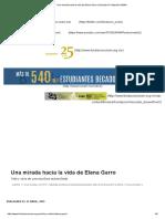 Una Mirada Hacia La Vida de Elena Garro _ Descubre Fundación UNAM