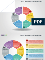 6 Parts Circle Infographics PowerPoint
