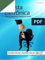 Revista Eletrônica  - Assédio Moral e Sexual