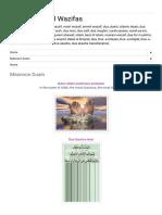Most Powerful Wazifas_ Masnoon Duain.pdf