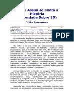 João Amazonas - Sobre 1935
