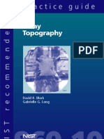 X-Ray Topography (SP 960-10) R20070815S