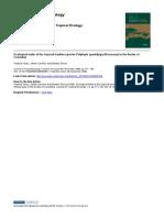 Características Ecológicas de La Especie de La Raya Tropical Polylepis Quadrijuga (Rosaceae) en Los Andes De