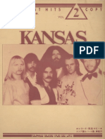 Rock Best Hits - Kansas - (Band Score)