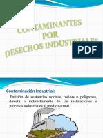 Contaminantes por desechos industriales