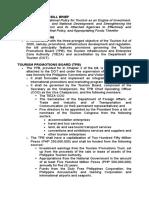 Tourism Law Brief