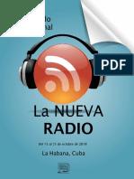 Convocatoria Instituto de Periodismo Jose Martí - Curso de Posgrado La Nueva Radio 2018