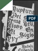 Calderon Bouchet - La Ruptura Del Sistema Religioso en El Siglo XVI