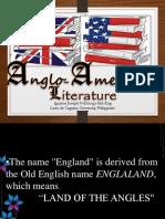 Anglo- American Lit