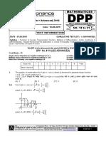 XII Maths DPP (07) - Prev Chaps - Functions&ITF - Limits,Continuity - MOD.pdf