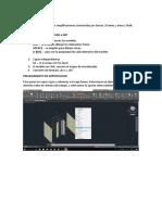 Importación de Autocad a Sap2000 Notas