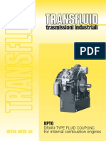 DRAIN TYPE FLUID COUPLING for Internal Combustion Engines KPTO