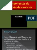 Componentes de Provisión de Servicios