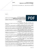 Embargos à Execução do Devedor.doc