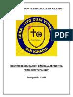 Carpeta Pedagógica Cas 4TO