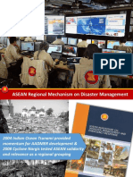 ASEAN Regional Mechanism on Disaster Management