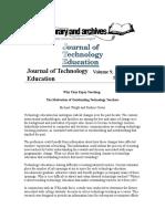 Journal of Technology Education (Job Sat.)
