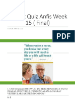 Pretest Quiz Anfis Week 15 ( Final)
