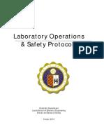 Laboratory Operations & Safety Protocols v2010