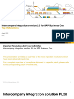 Top Fixes Intercompany Integration Solution 20 for B1