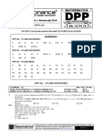 XII Maths DPP (34) - Prev Chaps - Determinant&Matrices.pdf