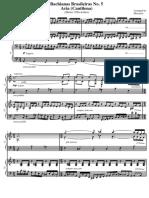 Bachianas Brasileiras No. 5 (Heitor Villa-Lobos) 2 Pianos