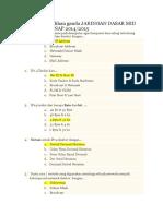 295724228 Jawaban Soal Pilihan Ganda Jaringan Dasar Mid Semester Genap 2014