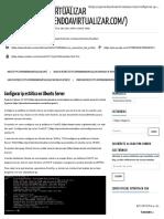 Configurar Ip Fija Ubuntu 16