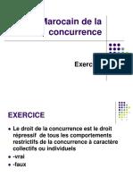 Droit Marocain de La Concurrence