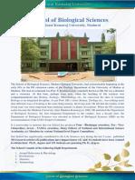 1 School of Biological Sciences (1)