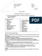 """Subiecte proba practica de chimie anorganica a Concursului National de Chimie """"C. D. Nenitescu"""", editia 2004"""