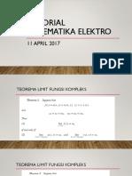 Tutorial MatEL 11 April 2017