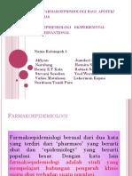 TUGAS FARMAKOEPIDEMIOLOGI KELOMPOK 1.pptx