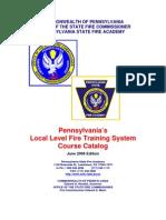 Local Level Course Catalog[1]