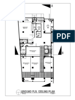 Sample commercial floor plan