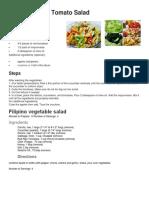 Filipino Salad Recipe