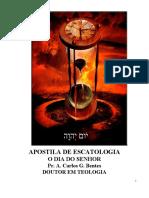 Escatologia Apostila Bentes 2018