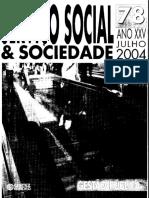 Texto Gestão Na AL - Revista Serviço Social e Sociedade
