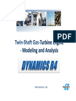 Two-shaft Gas Turbine Engine Modeling and Analysis Eng