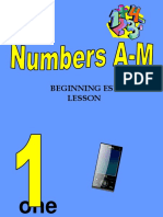 Numbers - PPT - -Beginner