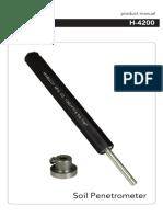 Pocket Penetrometer