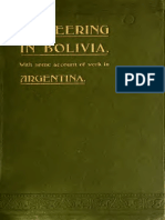 Will Payne - Missionering Pioneering in Bolivia, 1904