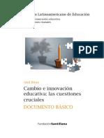 Cambio e Innovacion Educativa. Axel Rivas