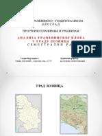 Prezentacija Urbanizam Vladan Spasenovic
