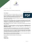 Note Interne Internal Memo Guillaume Leroy Mourenx 09072018